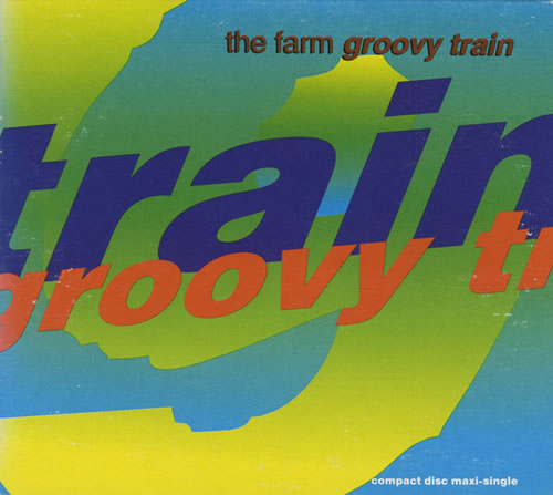 The Farm Groovy Train 1991 USA CD single 940067-2