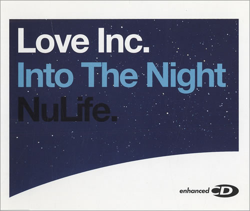 Image of Love Inc. Into The Night 2004 UK CD single 82876585782
