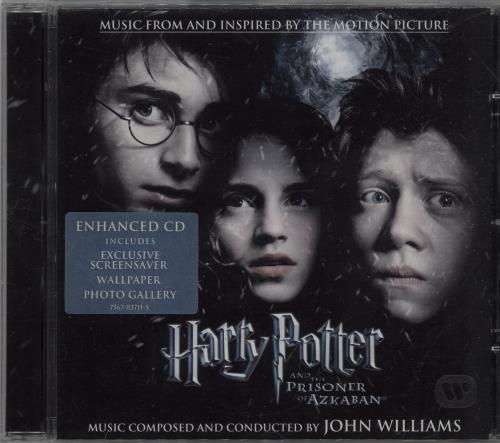 Harry Potter Harry Potter And The Prisoner Of Azkaban 2004 UK CD album 7567837115