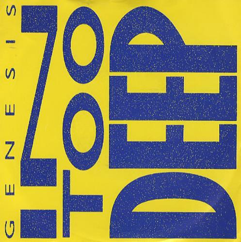 """Image of Genesis In Too Deep 1986 UK 7"""" vinyl GENS2"""
