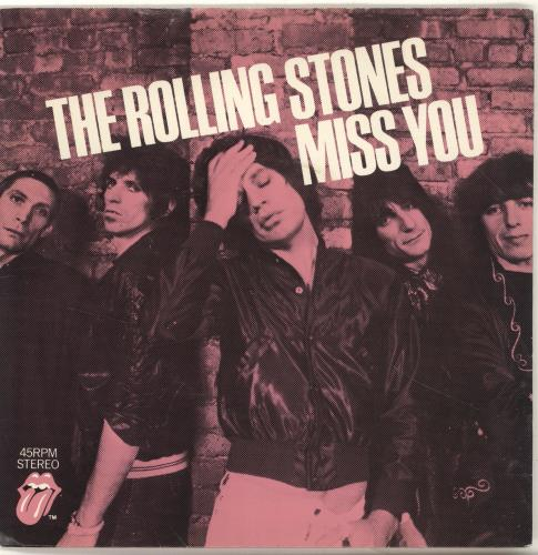 Rolling Stones - Miss You - P/s