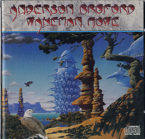Anderson Bruford Wakeman Howe Anderson Bruford Wakeman Howe 1989 USA CD album ARCD8590126