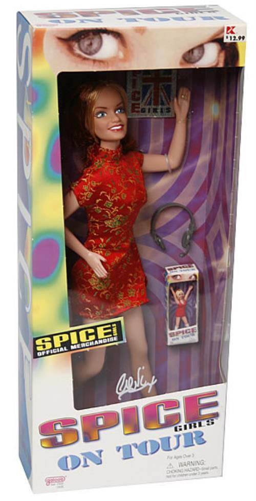 Spice Girls Geri Doll 1998 USA memorabilia GERI DOLL