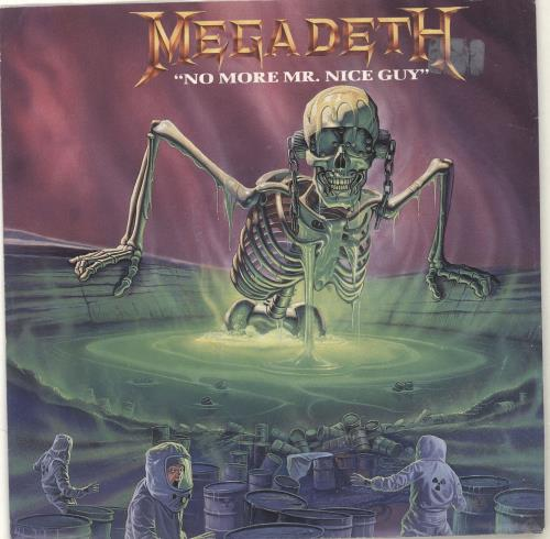 Megadeth No More Mr. Nice Guy 1989 UK 7 vinyl SBK4