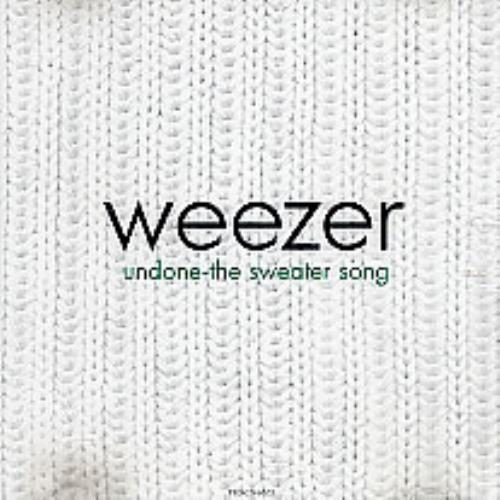 Weezer Undone The Sweater Song 1994 USA CD single PRO-CD-4662
