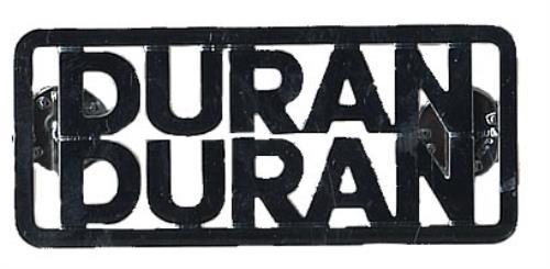 Duran Duran Fanclub & Big Thing Metal Badges UK badge BADGES
