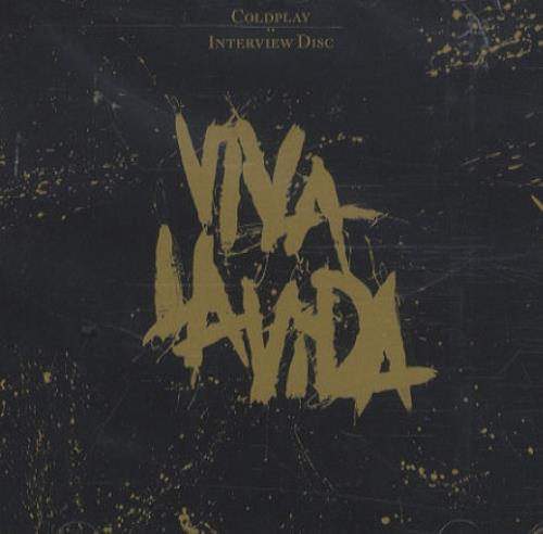 Coldplay Viva La Vida Interview 2008 UK CD album COLDINT003