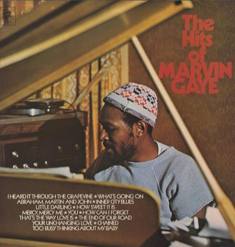 Marvin Gaye The Hits Of Marvin Gaye 1972 UK vinyl LP STML11201