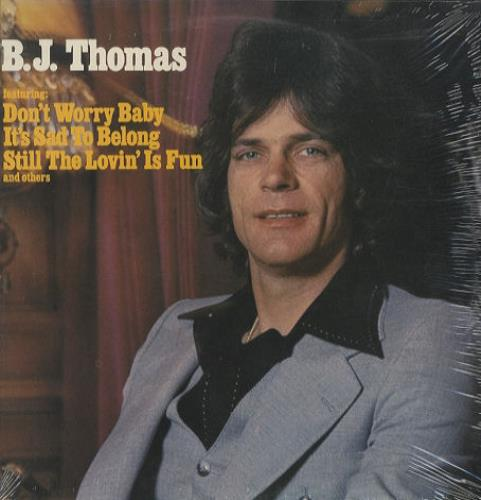 B.J. Thomas B.J. Thomas  Sealed 1977 USA vinyl LP MCA2286
