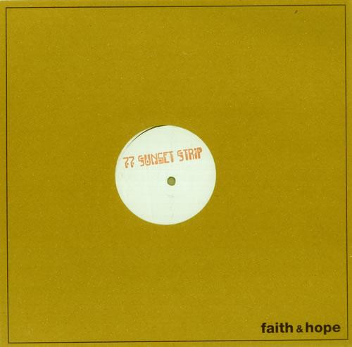 Alpinestars 77 Sunset Strip  White Label 2000 UK 12 vinyl FH12017