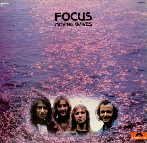 Focus Moving Waves 1973 Italian vinyl LP 2310150