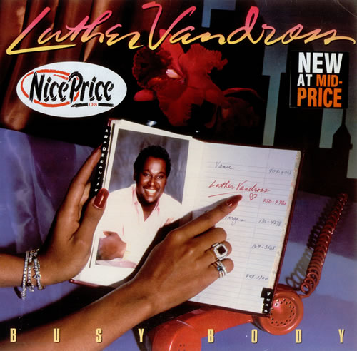 Vandross, Luther - Busy Body EP