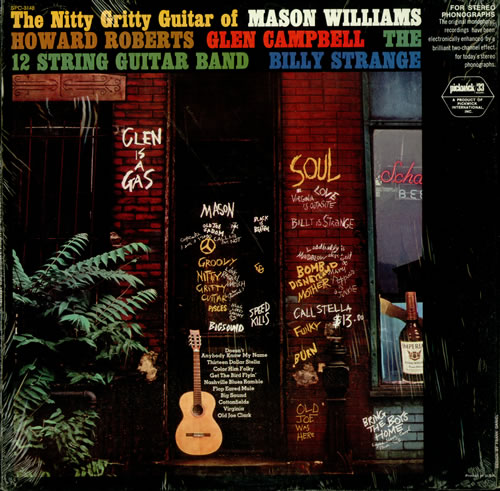 Mason Williams The Nitty Gritty Guitar Of 1967 USA vinyl LP SPC3148