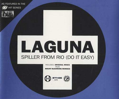 Laguna Spiller From Rio Do It Easy 1997 UK CD single CDTIV83