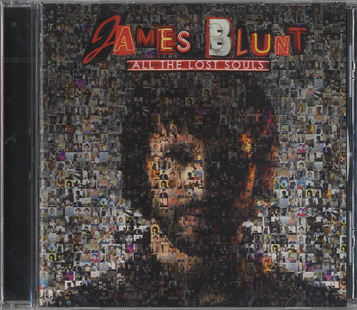 James Blunt All The Lost Souls 2008 Singapore CD album 7567899724
