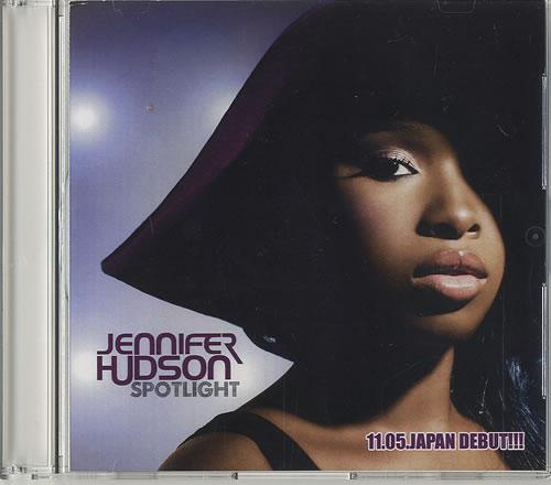 Jennifer Hudson Spotlight 2008 Japanese CDR acetate CDR ACETATE