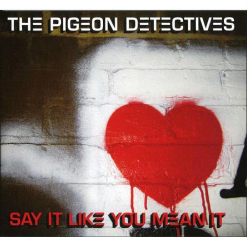 The Pigeon Detectives Say It Like You Mean It 2008 UK CD single DTTR047CD