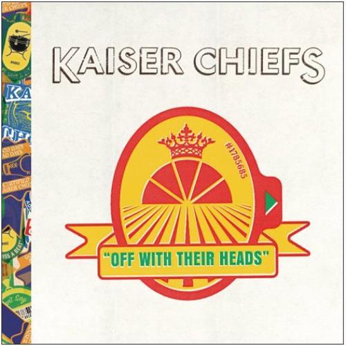 Kaiser Chiefs Off With Their Heads 2008 UK 2CD album set BUN144CDS