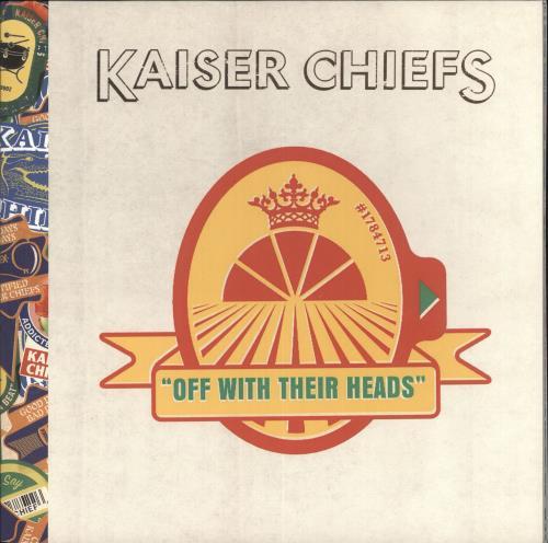 Kaiser Chiefs Off With Their Heads 2008 UK 2LP vinyl set BUN144LP