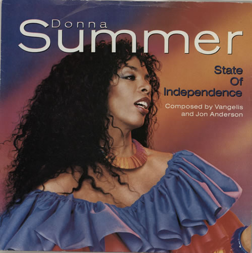 "Image of Donna Summer State Of Independence 1982 UK 7"" vinyl K79344"