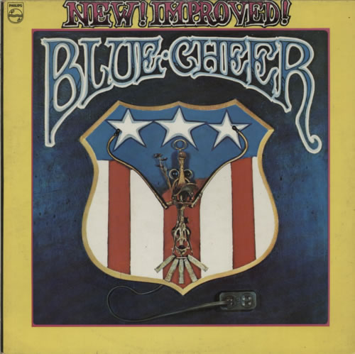 Blue Cheer New! Improved! 1969 UK vinyl LP SBL7896