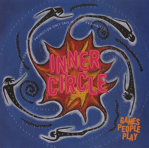 Inner Circle Games People Play 1994 USA CD single PRCD5770-2