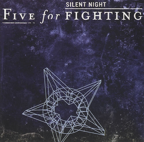 Image of Five For Fighting Silent Night 2004 USA CD single CSK56106