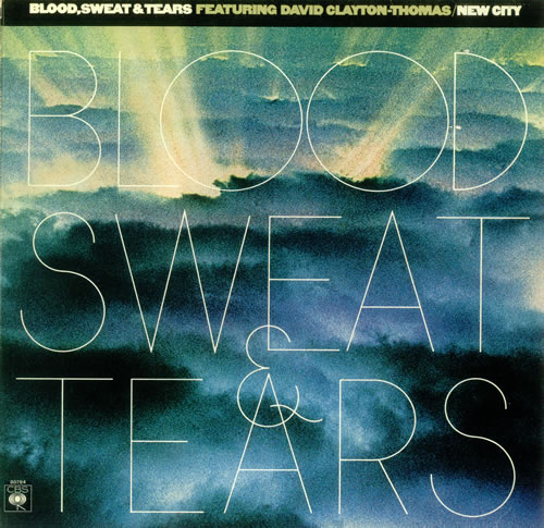 Blood Sweat & Tears New City 1975 UK vinyl LP S80784