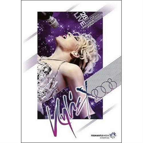 Kylie Minogue Kylie X2008 2008 UK DVD FHED2518
