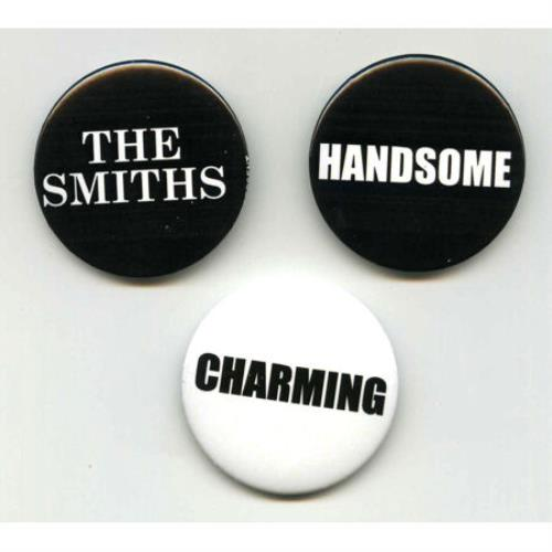 The Smiths The Sound Of The Smiths 2008 UK badge SET OF PROMO BADGES