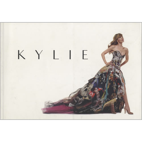 Kylie Minogue Kylie  The Exhibition 2007 UK book 1851775129