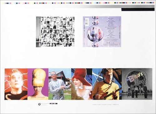 B52s Time Capsule 1998 USA artwork ARTWORK