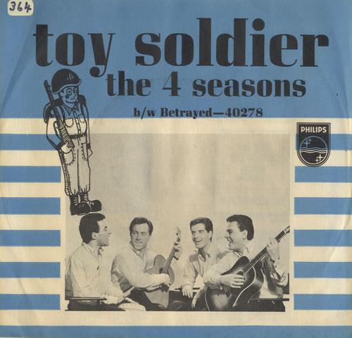 The Four Seasons Toy Soldier 1965 USA 7 vinyl 40278