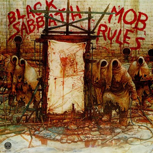 Black Sabbath - Mob Rules Record