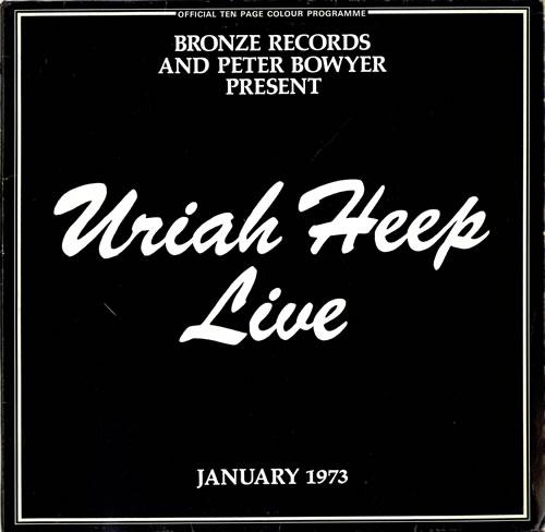 Uriah Heep - Live Vinyl