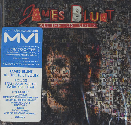 James Blunt All The Lost Souls 2007 USA 2disc CDDVD set 2864609