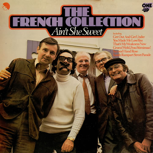 The French Collection Aint She Sweet 1975 UK vinyl LP OU2082