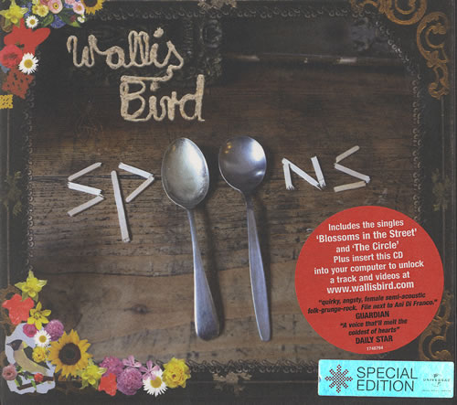 Wallis Bird Spoons  Special Edition 2007 UK CD album 1748794