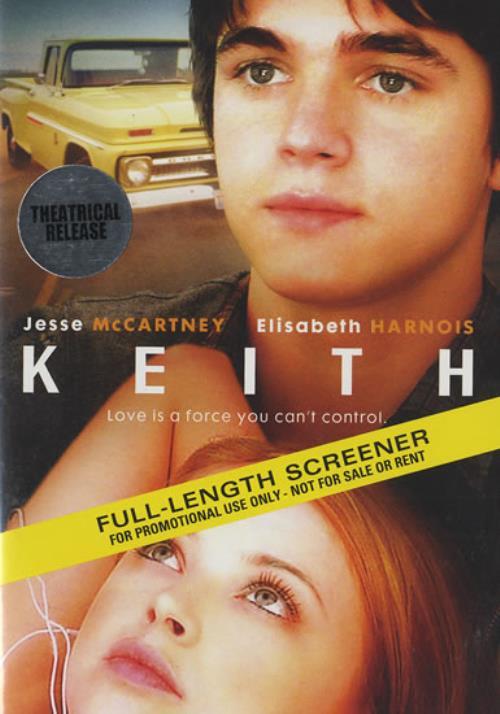 Jesse McCartney Keith 2009 USA DVD PROMO253