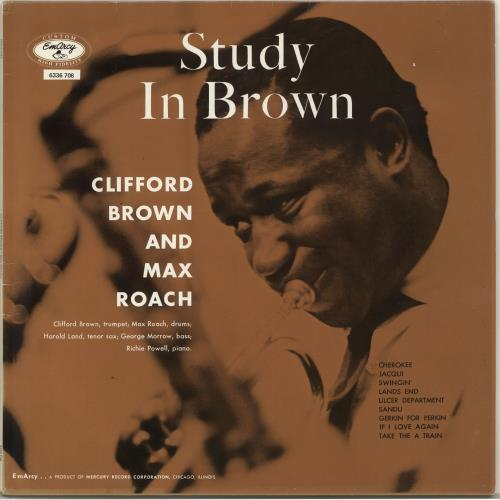 Image of Clifford Brown & Max Roach Study In Brown 1983 Dutch vinyl LP 6336708