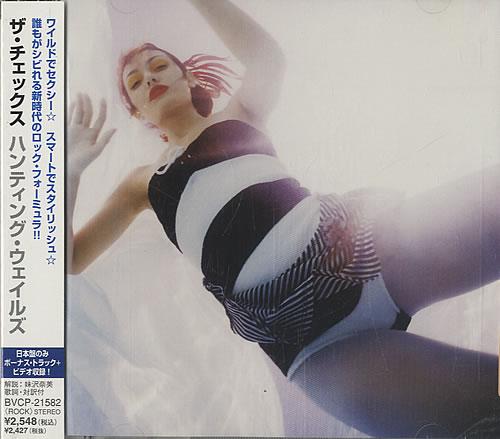 The Checks Hunting Whales 2007 Japanese CD album BVCP21582