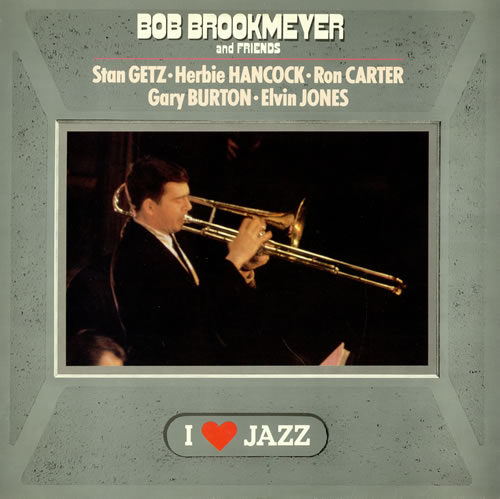 Bob Brookmeyer Bob Brookmeyer And Friends 1985 Dutch vinyl LP CBS21123