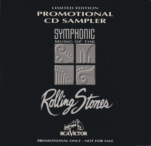 Rolling Stones Symphonic Music Of The Rolling Stones Promotional CD Sampler 1995 USA CD single SSPCD1