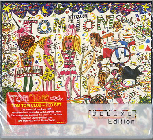 Tom Tom Club Tom Tom Club 2009 UK 2CD album set 2701690