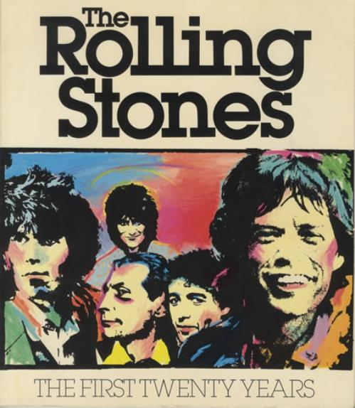 Rolling Stones The First Twenty Years 1981 USA book 394-70812-1
