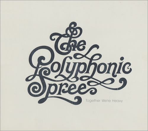 The Polyphonic Spree Together Were Heavy 2004 UK CD album PRCD116732