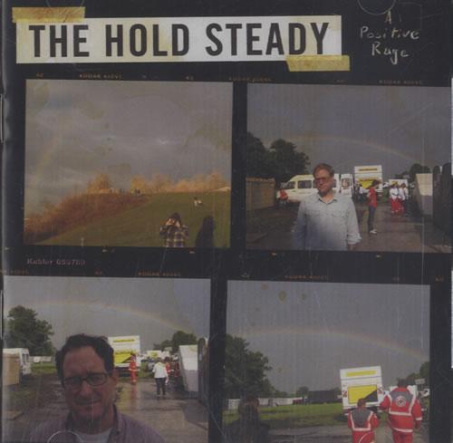 The Hold Steady A Positive Rage 2009 Taiwanese 2disc CDDVD set HN627CD