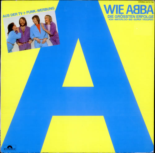 Abba Wie Abba 1980 German vinyl LP 2475732