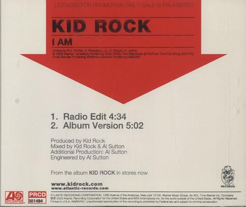 Kid Rock - I Am Album