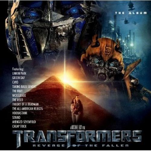 Linkin Park Transformers Revenge Of The Fallen OST 2009 UK CD album 9362497667